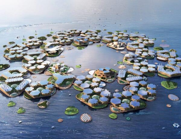 Ilyen lebegő városokban élhetünk a jövőben, a globális felmelegedéshez alkalmazkodva