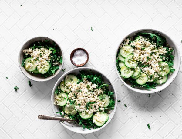 Az 5 kedvenc alakbarát salátám és savanyúságom uborkával