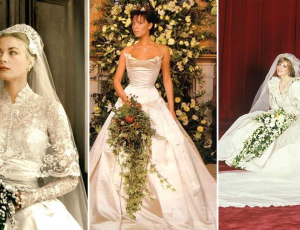 A világ 15 leghíresebb esküvői ruhája: divattörténelmet írtak