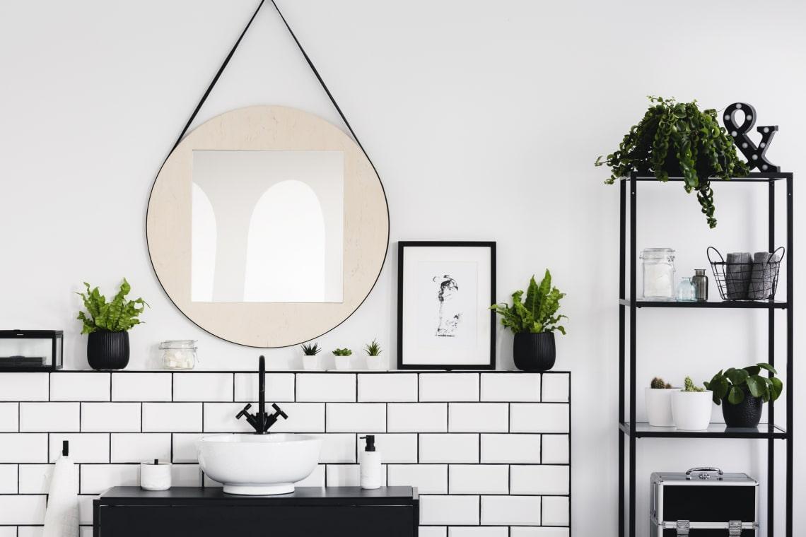 A 10 legstílusosabb csempe, ha kicsi a fürdőszobád