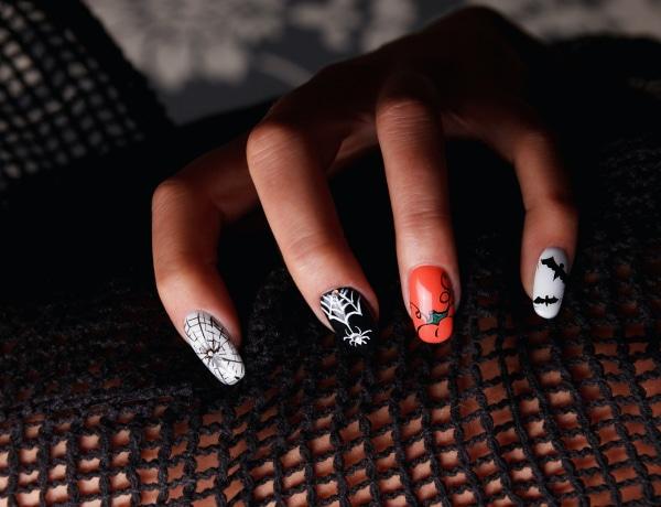 Halloweeni manikűrök: aranyos és ijesztő körmök, amiket otthon is elkészíthetsz