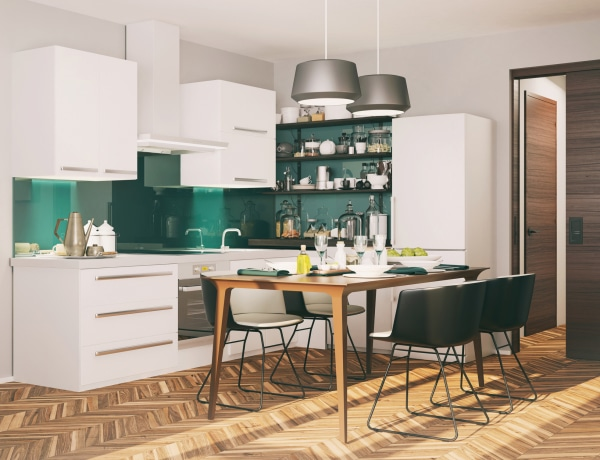 4 igazán stílusos konyhai háttér – Egyedi enteriőr egyszerűen
