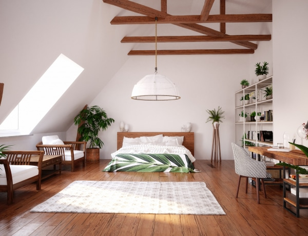 Talpalatnyi luxus: bámulatosak ezek a tetőtéri hálószobák