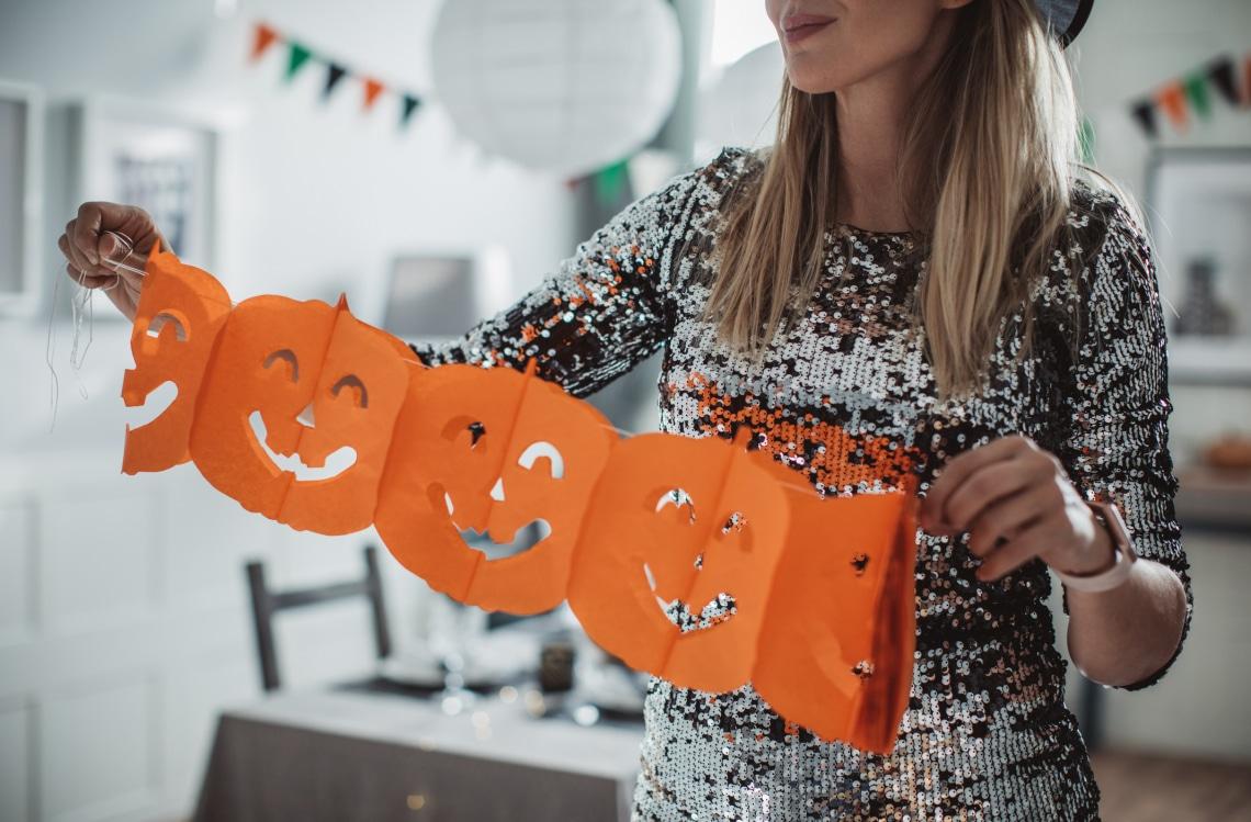 8 csajos halloweeni dekor a lakásba