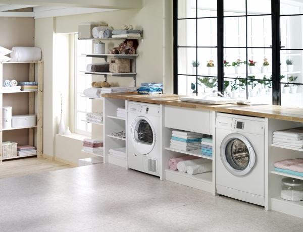 Itt neked is megjön a kedved a takarításhoz – Ezek a legszebb, modern mosókonyhák