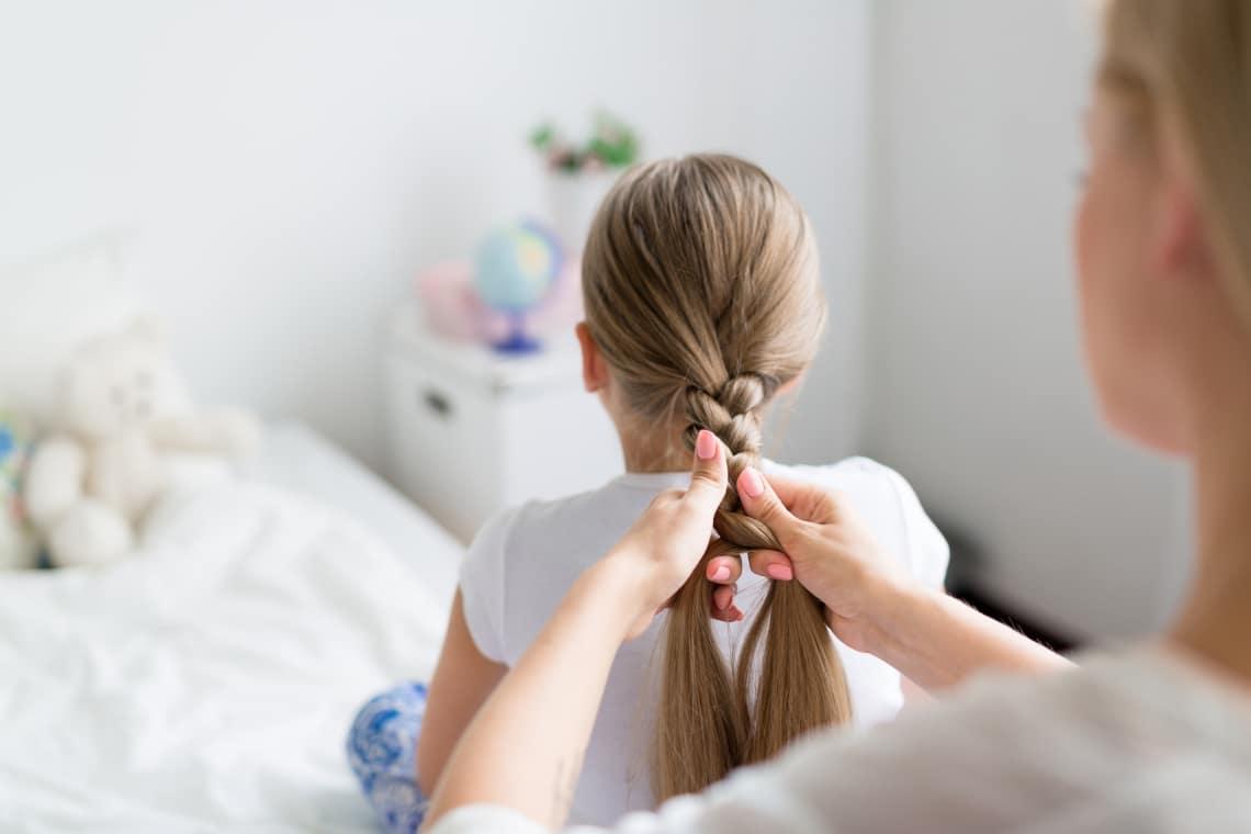 7 frizura kislányoknak, amit már bébihajból is elkészíthetsz