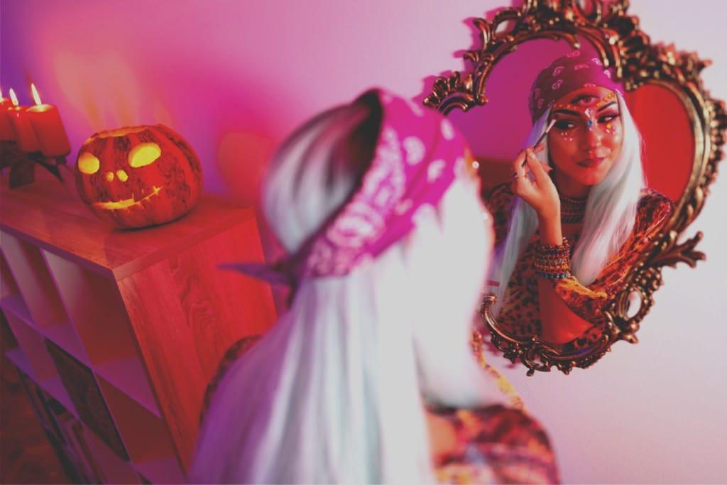 9 Halloween smink, amit maszkkal is viselhetsz