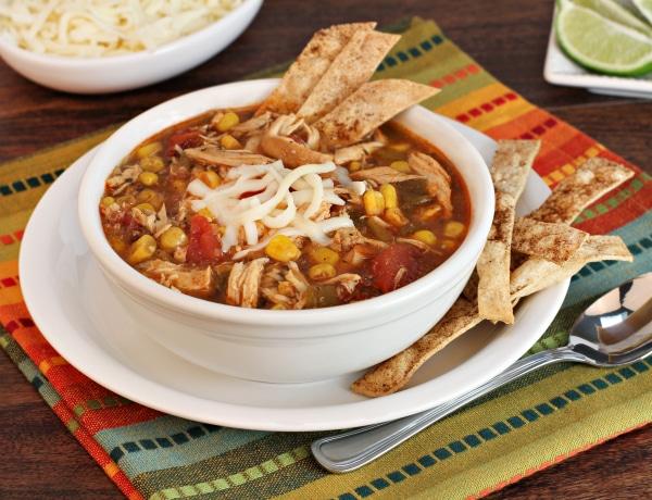 Laktató és különleges – Mexikói pikáns leves csirkemellel