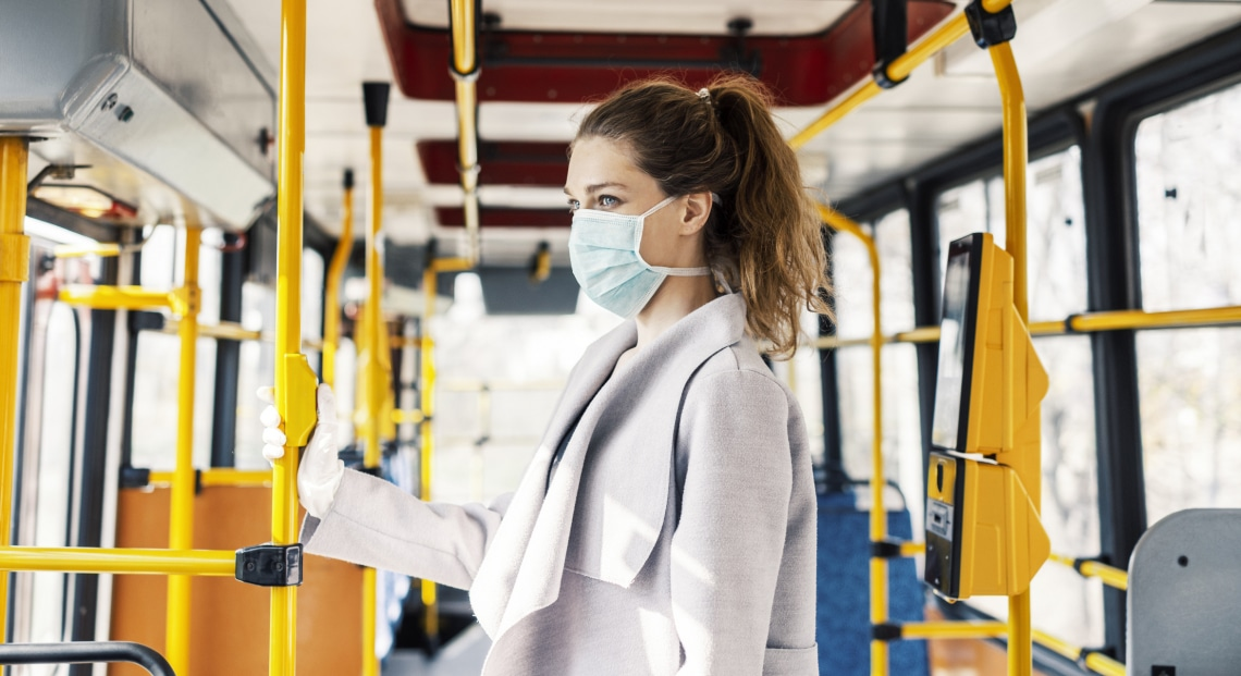 Járvány idején: Így utazz tömegközlekedésen biztonságosan