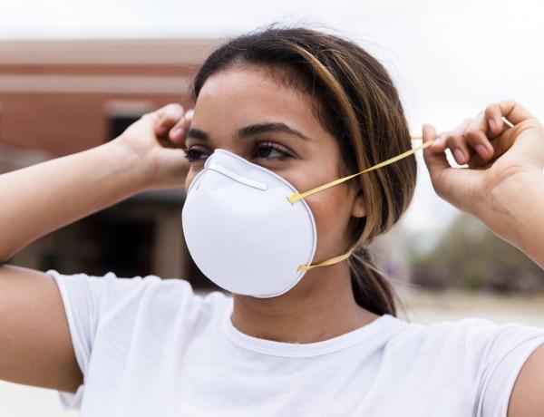 Ez a típusú maszk nem véd a koronavírus ellen