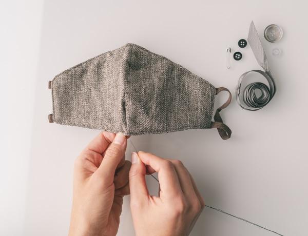 Régi ruhadarabokból maszk – 5 egyszerű DIY trükk