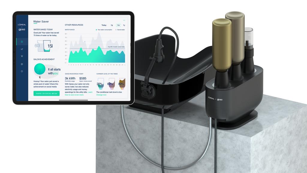 A L'Oréal innovatív vízmegtakarítója