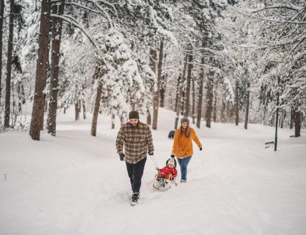 Hol szánkózzak? 6 hely Magyarországon, ahol nagy eséllyel van hó