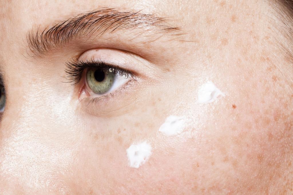 Szemkörnyéki bőr öregedése