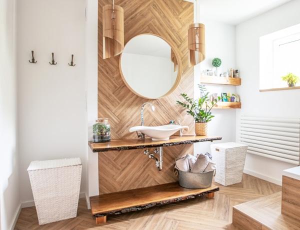 10 tároló megoldás a fürdőbe, ami kis helyet foglal, de a dizájnja hatalmas