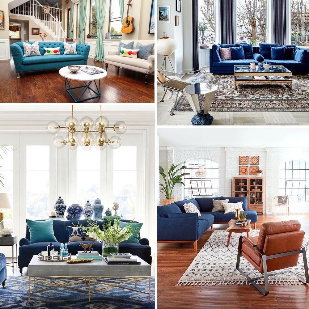 Kék kanapé