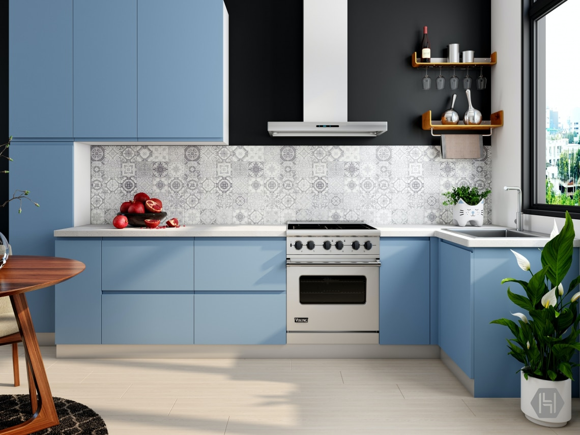 A kék konyha szép konyha! 5 lakber inspiráció kék konyhákhoz