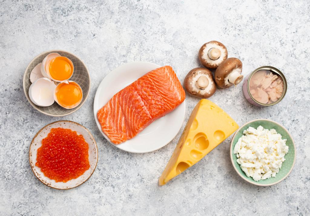 D-vitamin élelmiszerek