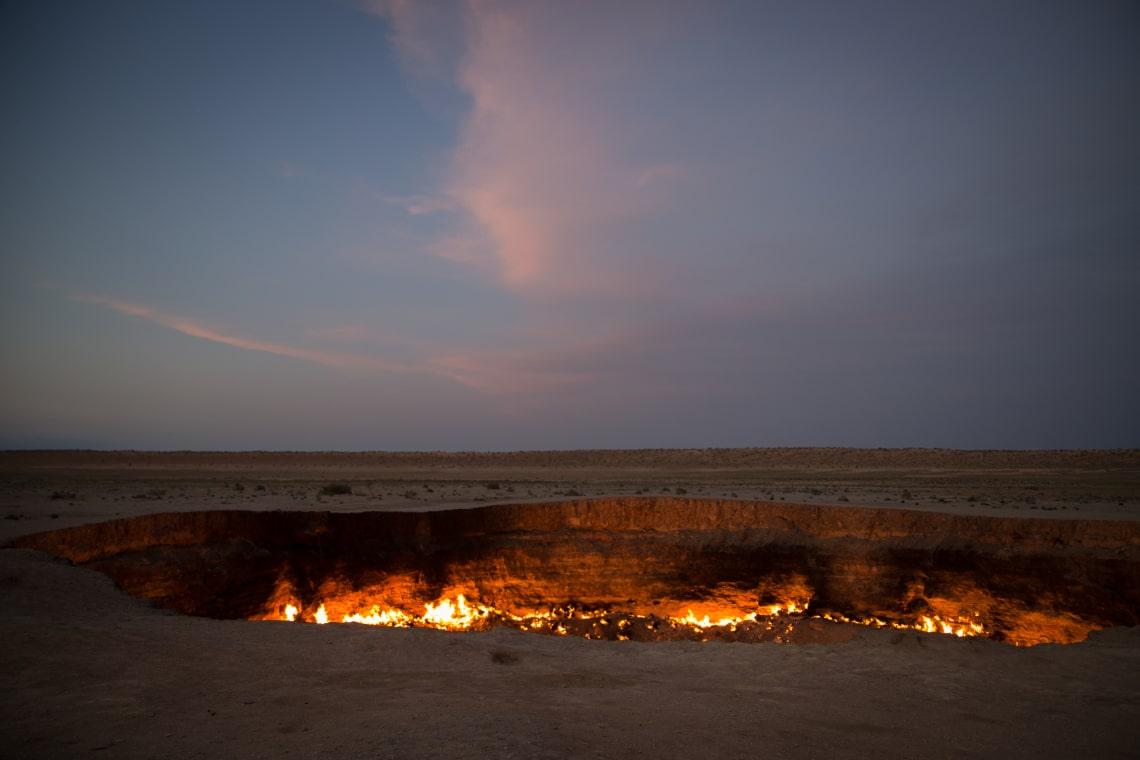 A pokol földi kapujai, avagy helyek, ahol évszázadok óta ég a tűz
