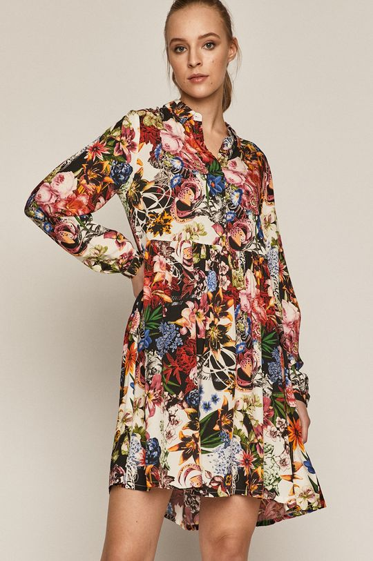 Virágos tavaszi ruha