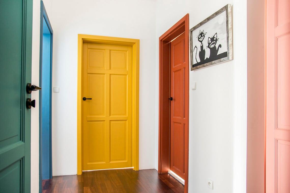 12 inspiráció, hogy felújítsd a régi, kopott beltéri ajtókat