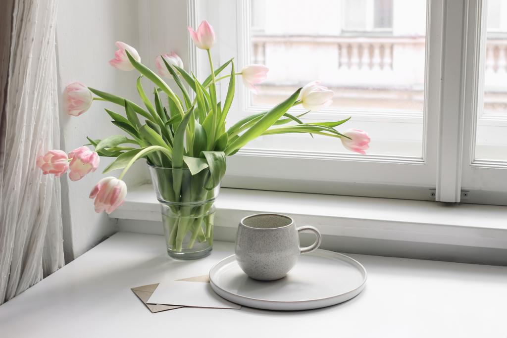 Váza tulipán