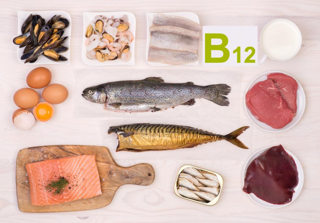 B12 vitamint tartalmazó élelmiszerek