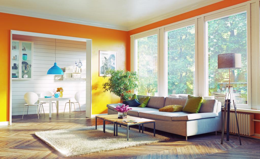 Narancssárga falszín