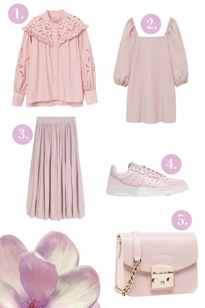 Rágógumi rózsaszín divat