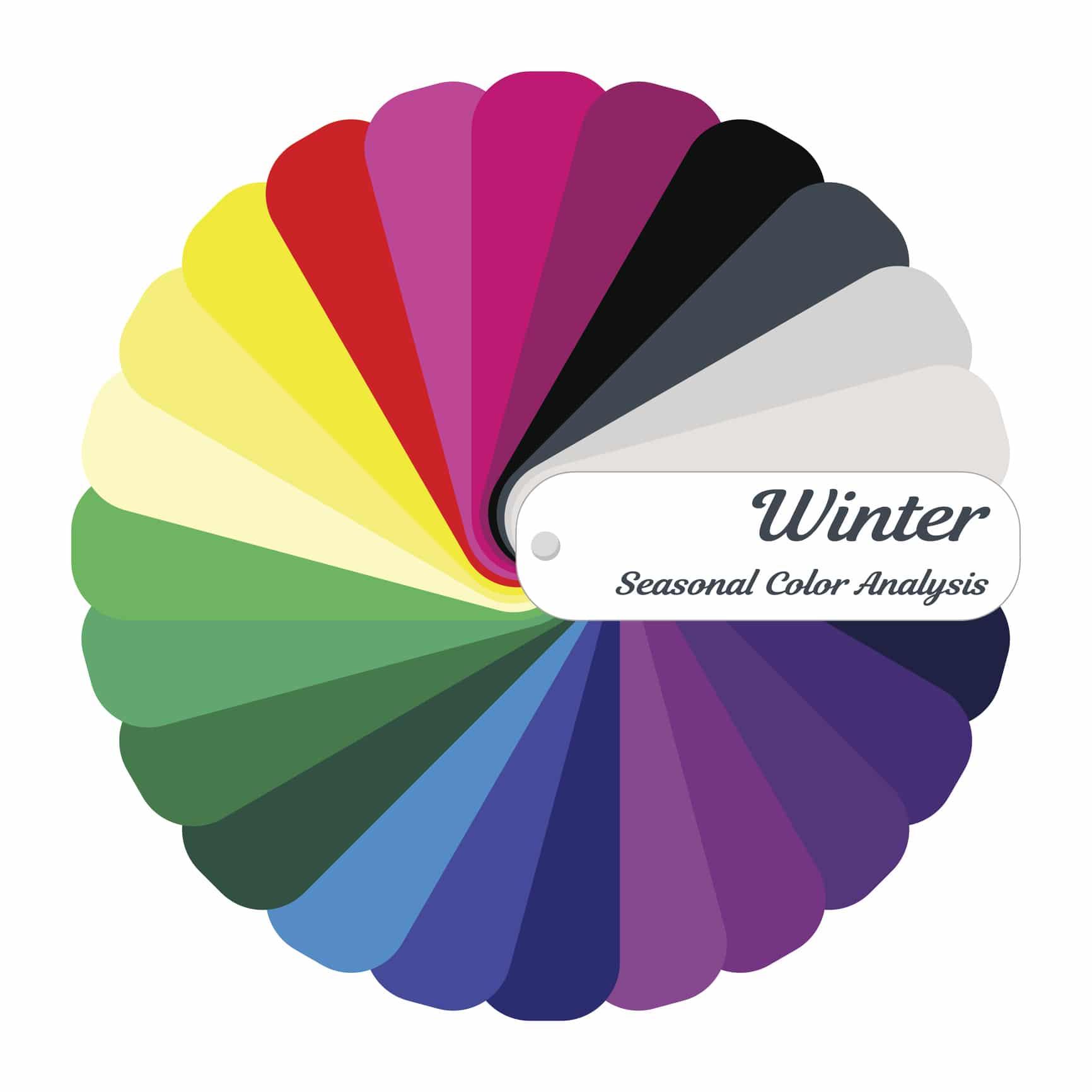 Téli színtípus jellemzői
