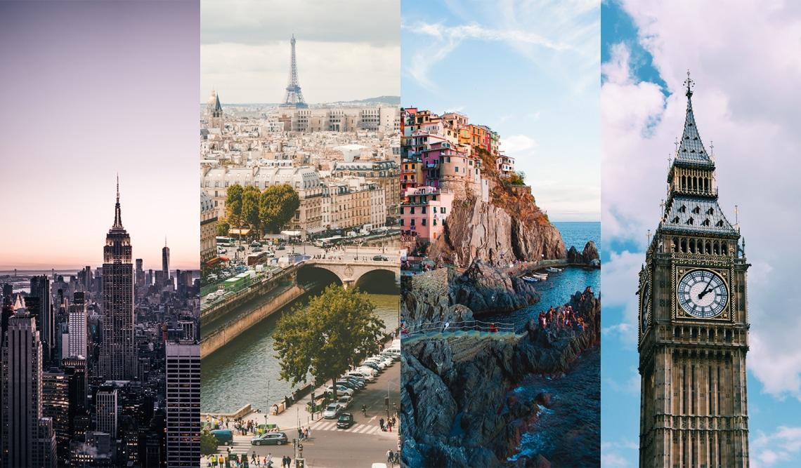 Melyik ország passzol legjobban a stílusodhoz? Tesztünkből kiderül