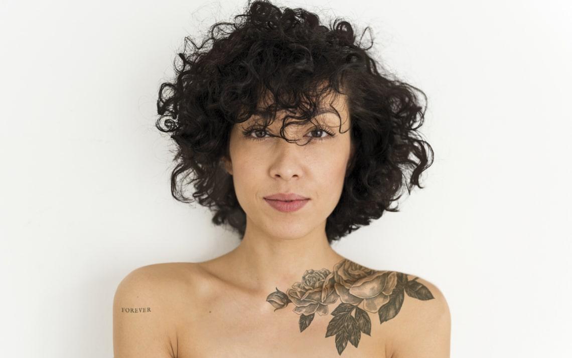5+1 testrész, ahol kimondottan előnyös a női tetoválás