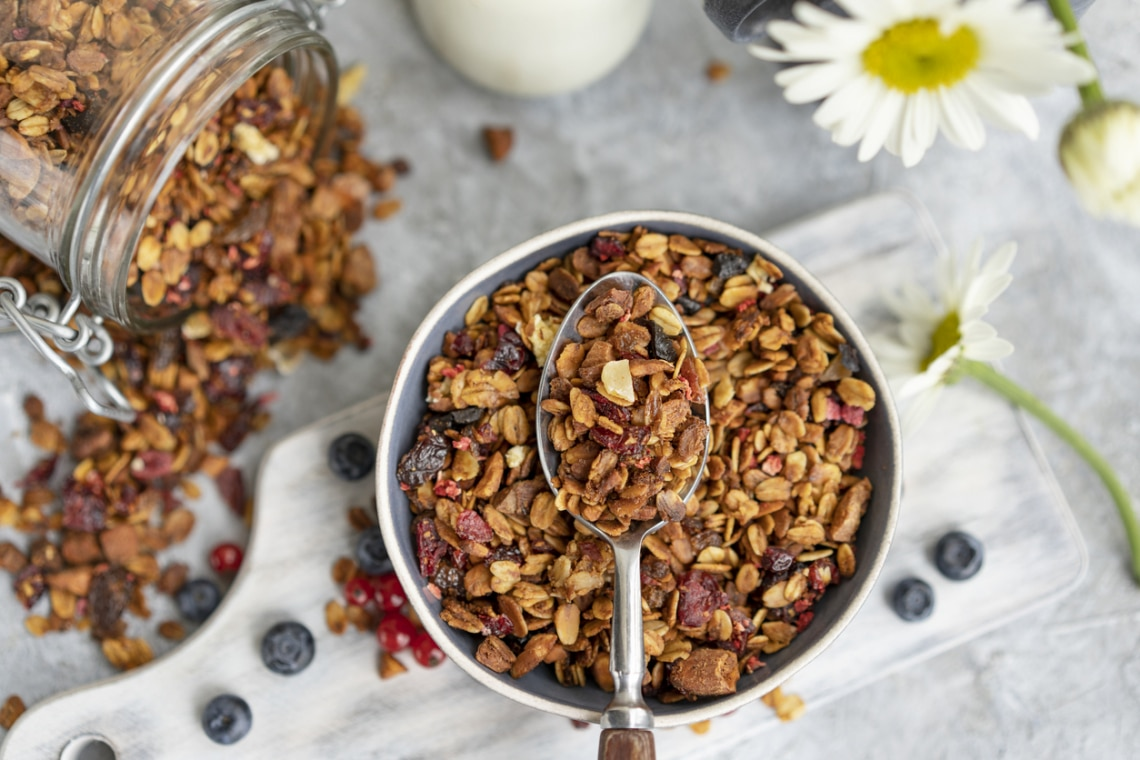 Az 5 legjobb, ellenállhatatlan, házilag elkészíthető granola recept