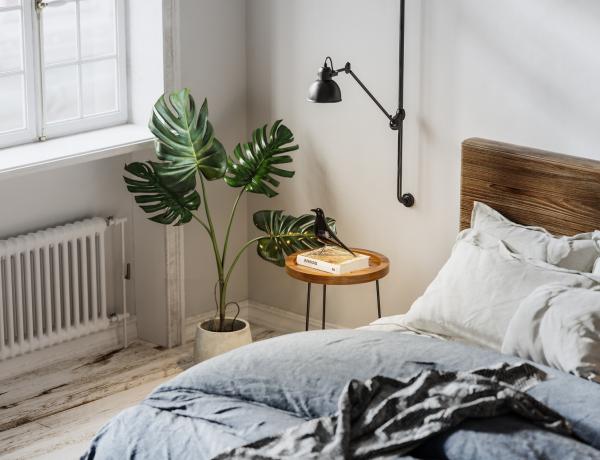 Hálóhelyiség az egyszobás kis garzonban – 10 stílusos inspiráció