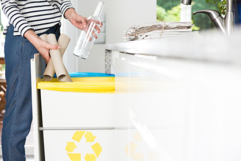 Újrahasznosítási tippek otthonra