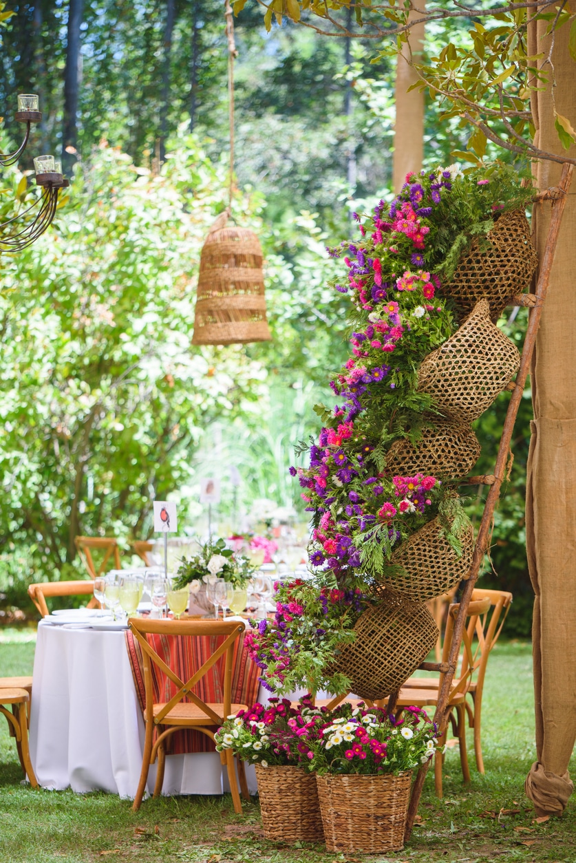 Kreatív kültéri virágtartók