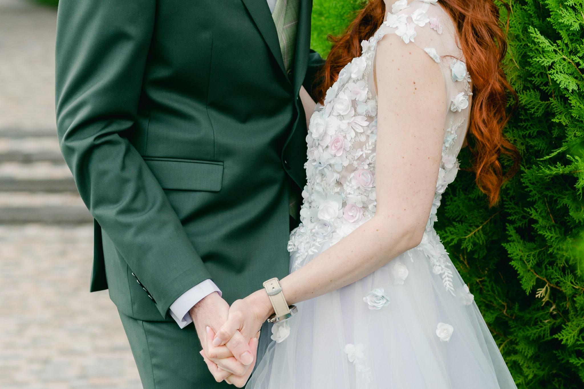 Extravagáns menyasszonyi ruha