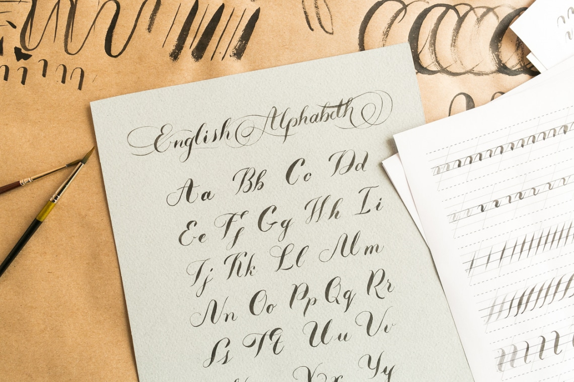 Kalligráfia tanulás