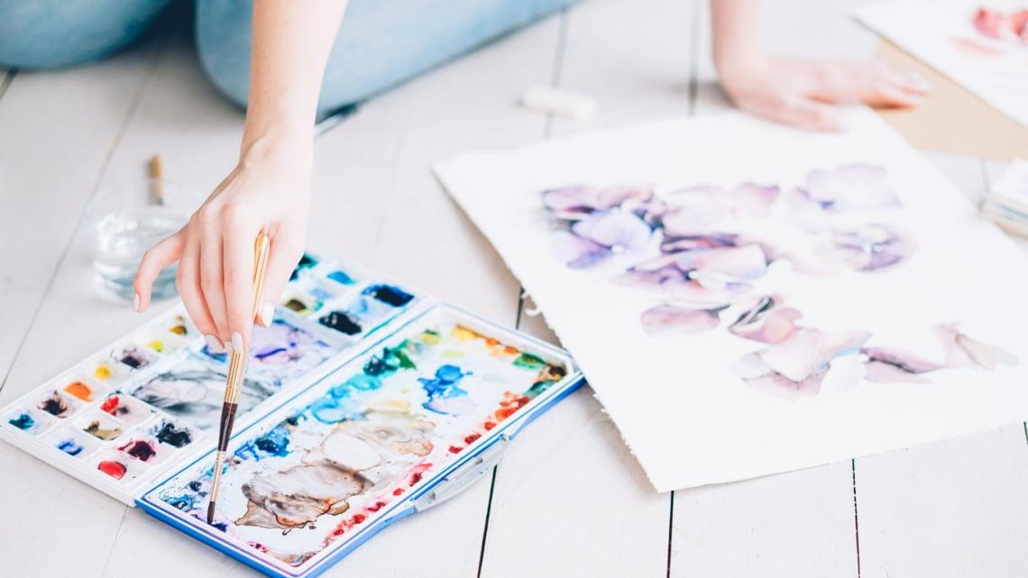 Akvarell festés tanfolyam