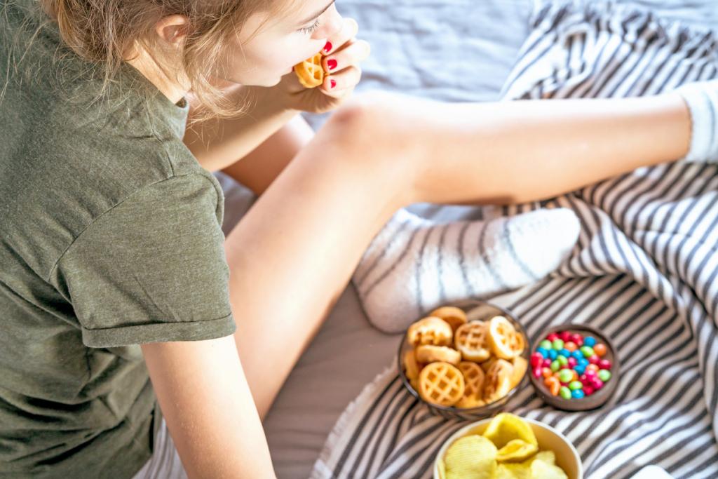 A koronavírus hatása a táplálkozásra