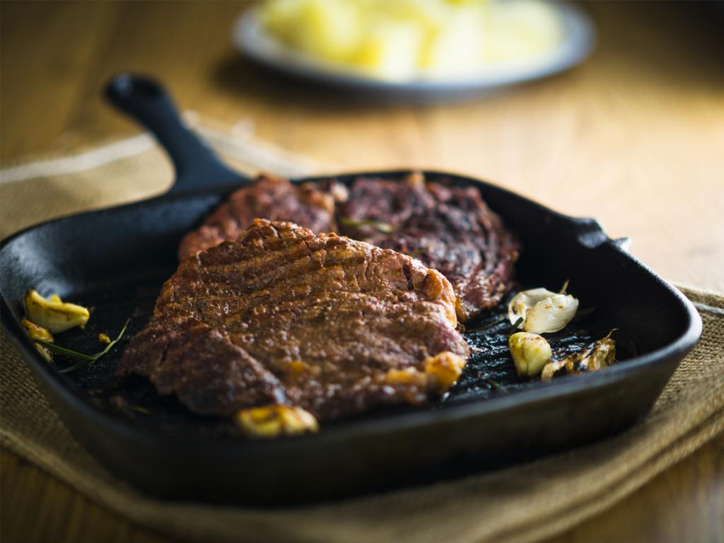 Pikáns grillezett steak