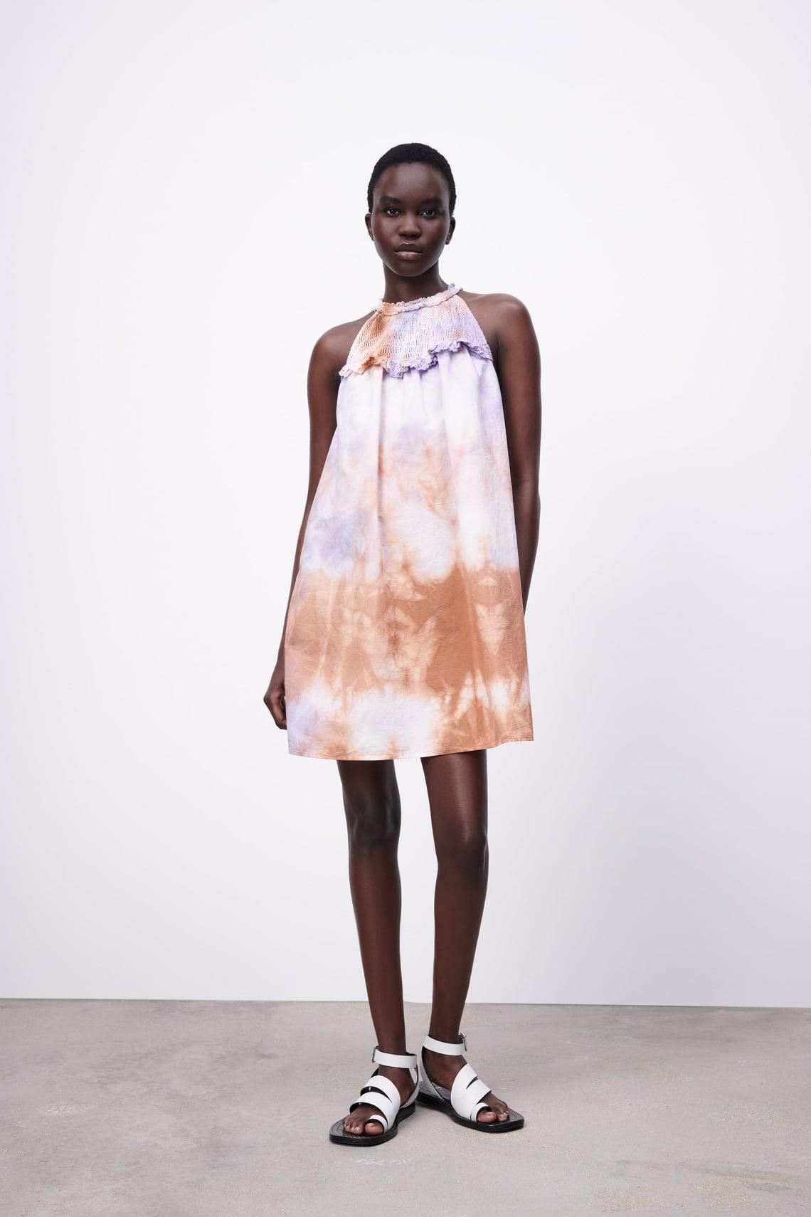 Fodros, batikolt ruha a Zarából