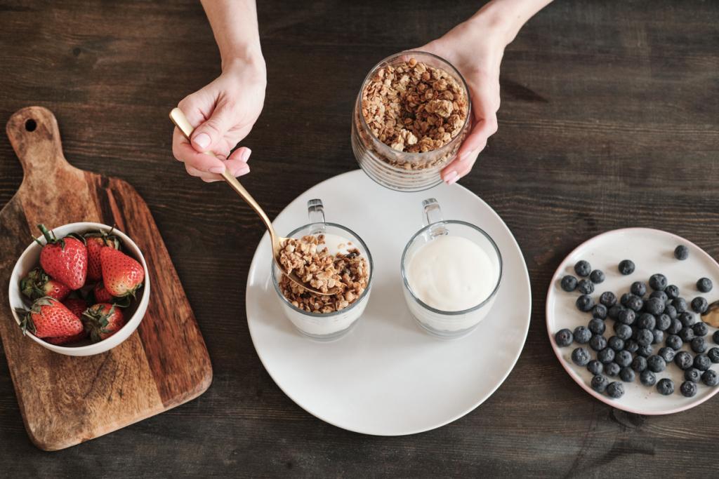 Joghurt reggeli