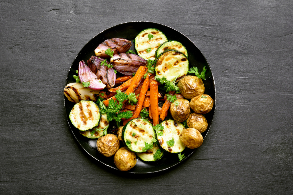 Grillezett zöldségek