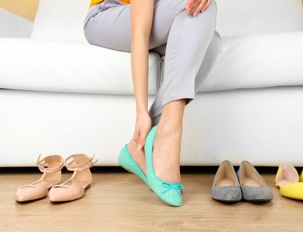 Lábszag a balerina cipőben. Hogyan előzd meg a   szagosodást?