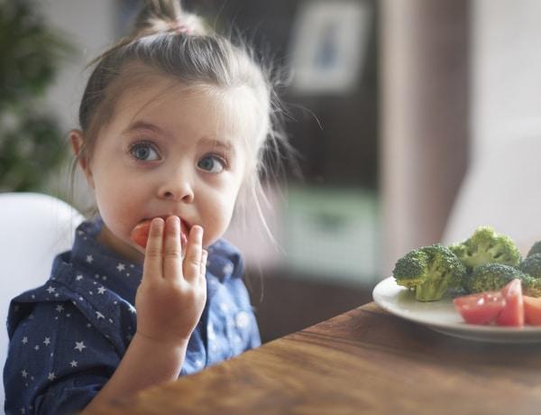 Elérheted, hogy a gyermeked akár 68%-kal több zöldséget egyen