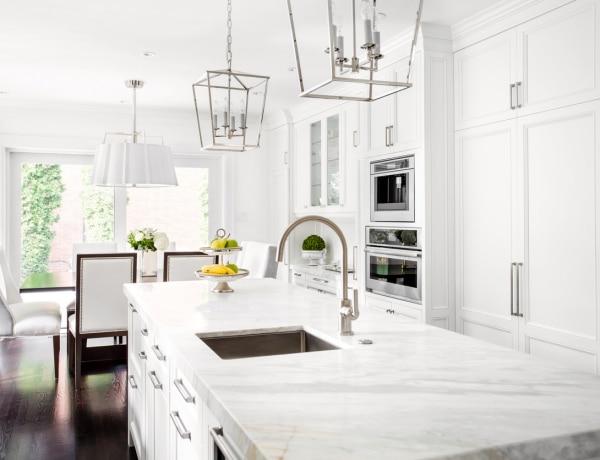 Gyönyörű a fehér a konyhában! 5 inspiráló konyhai megoldás