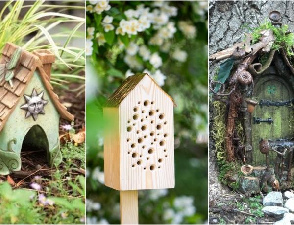 10 kerti ötlet, amivel a legkedvesebb állatokat vonzhatod a kertedbe