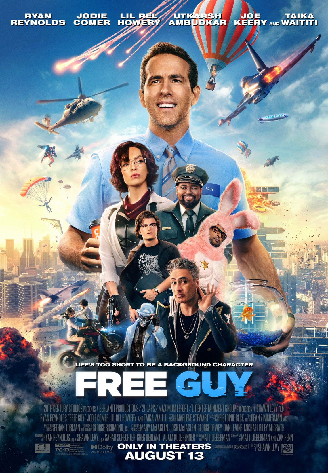 Free Guy: augusztus 12.