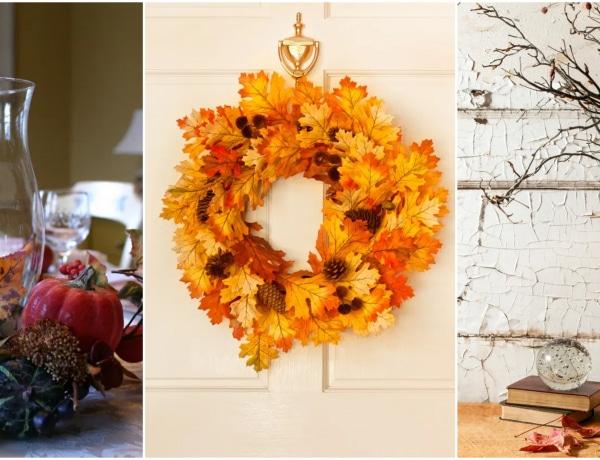 7 pazar őszi dekoráció, semmi pénzből – Már alig várod!